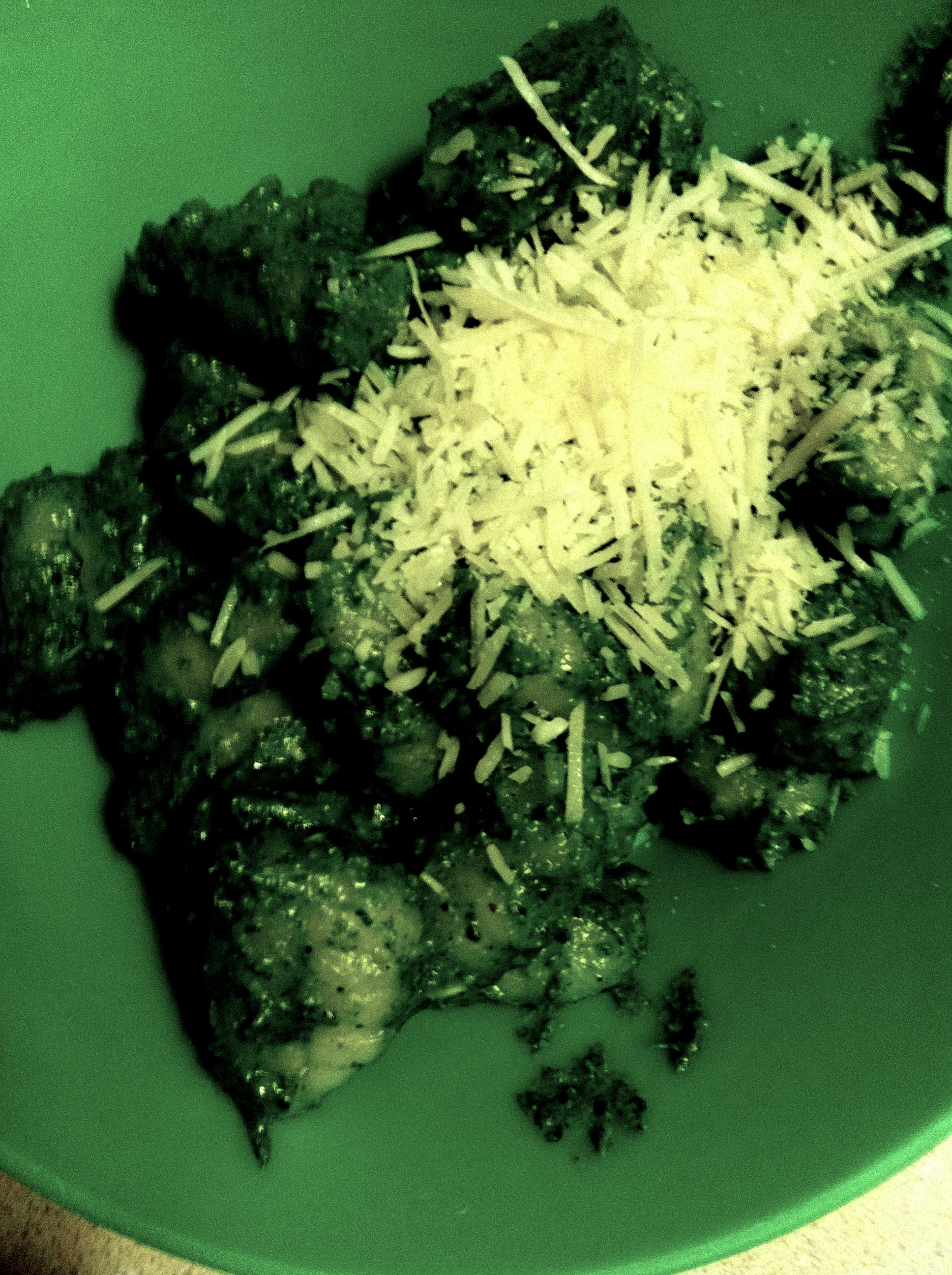 Spinach Pesto Gnocchi, Spiders and R – Rated Squash | The Girl who ...